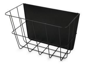 TIDNINGSSTÄLL - svart, Basics, metall (37,5/25/20,5cm)