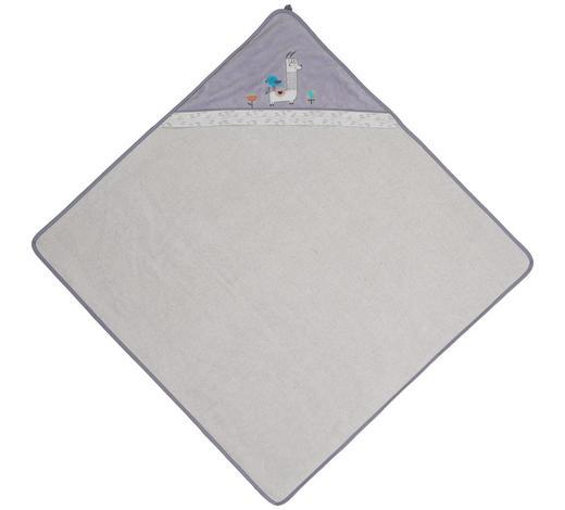 KAPUZENBADETUCH - Grau, Basics, Textil (100/100cm)