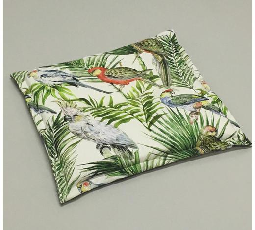 GARTENSITZKISSEN in Multicolor Vogel - Multicolor, Design, Textil (48/4/48cm)