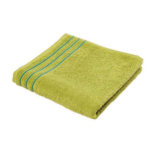 RUČNIK - svijetlo zelena, Konvencionalno, tekstil (50/100cm) - Vossen