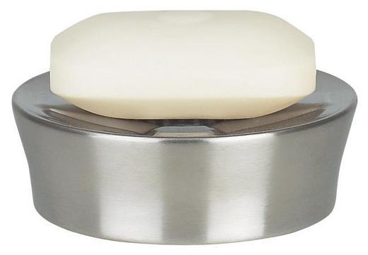 SEIFENSCHALE - Edelstahlfarben, Basics, Metall (10,5cm) - Spirella