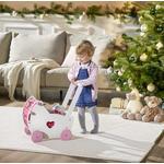 PUPPENWAGEN - Pink/Rosa, Basics, Holz/Textil (49,5/31/49cm) - My Baby Lou