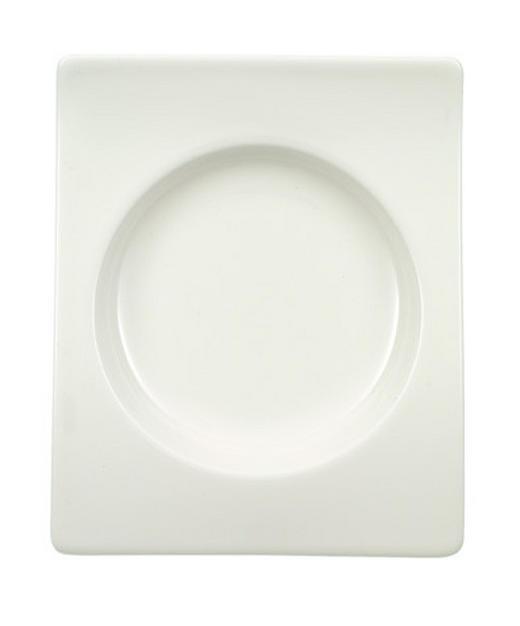 SNACKTELLER Porzellan - Weiß, Basics (13/15cm) - VILLEROY & BOCH