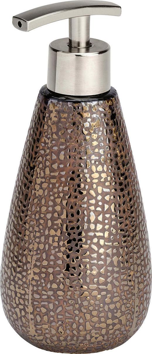 SEIFENSPENDER - Goldfarben/Braun, Basics, Keramik (8/18,6cm)