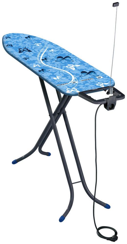 BÜGELBRETT - Blau, Basics, Textil (41,5/9/154cm) - Leifheit