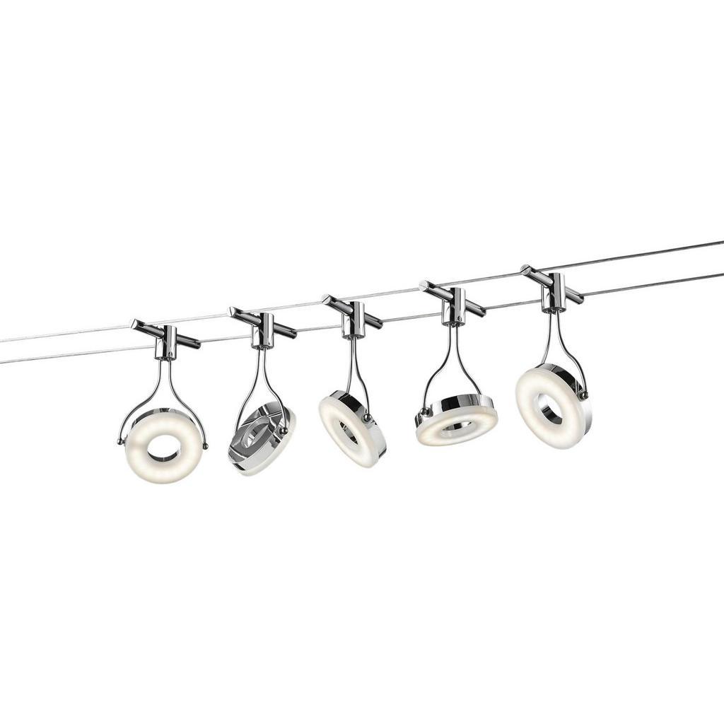 XXXL SEILSYSTEM, Silber   Lampen > Strahler und Systeme > Seilsysteme   Metall   XXXL Shop