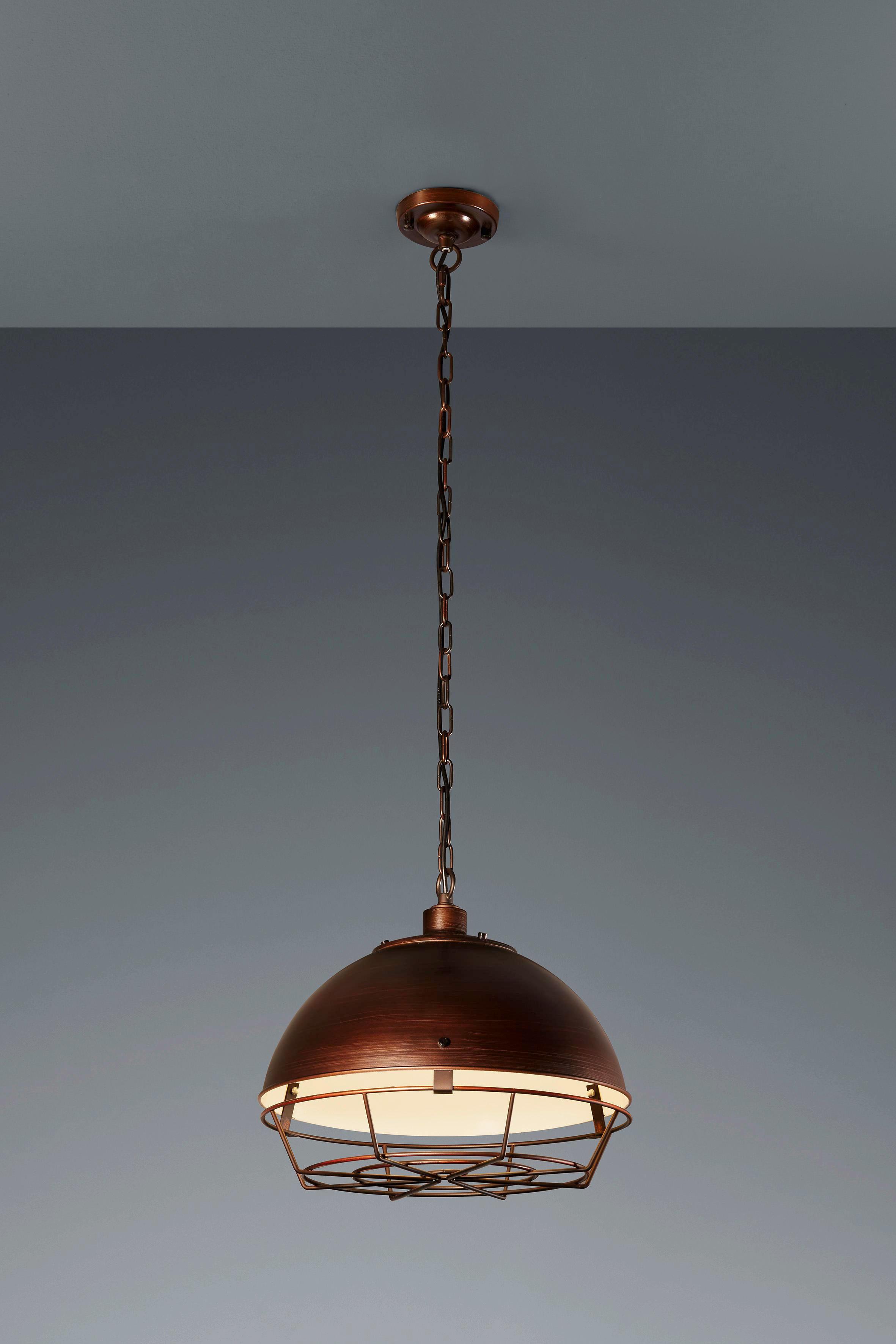 HÄNGELEUCHTE - Bronzefarben, LIFESTYLE, Metall (40,5/150cm)