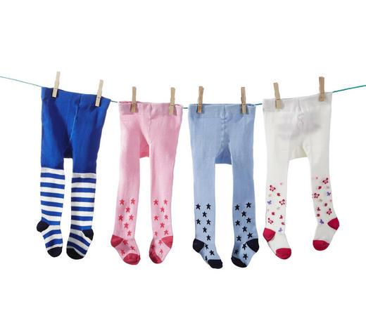 STRUMPFHOSE - Blau/Rosa, Basics, Textil (62-92null) - My Baby Lou