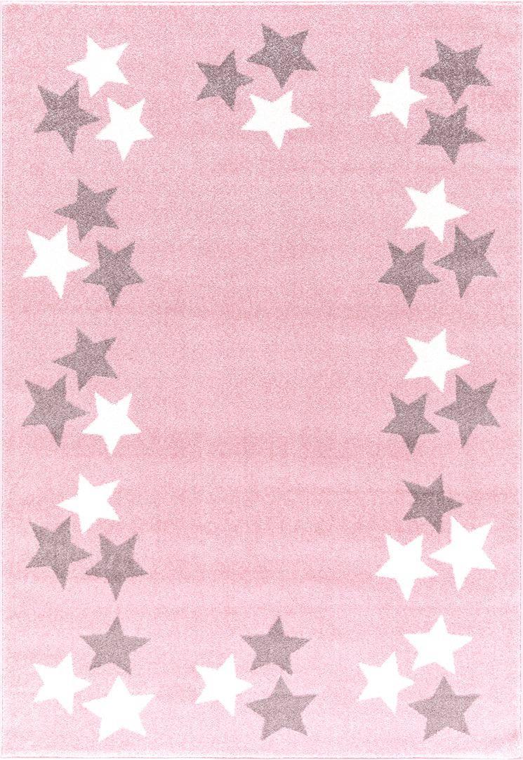 KINDERTEPPICH  Rosa  160/230 cm - Rosa, Textil (160/230cm)