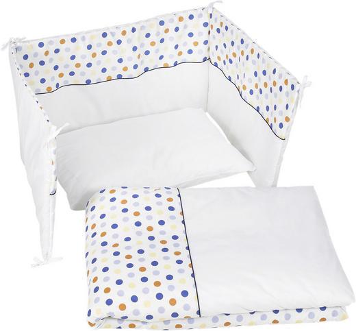 GITTERBETTSET Punkte Multicolor, Weiß - Multicolor/Weiß, Basics, Textil - My Baby Lou