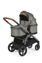 otroški voziček YPSI COMBO - siva, kovina/tekstil - Peg Perego