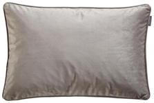 KISSENHÜLLE Silberfarben 40/60 cm  - Silberfarben, KONVENTIONELL, Textil (40/60cm) - Ambiente