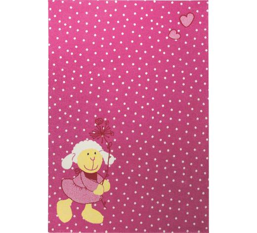 KINDERTEPPICH  80/150 cm  Pink   - Pink, Basics, Textil (80/150cm) - Sigikid