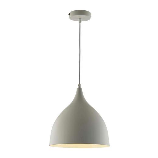 HÄNGELEUCHTE - Weiß, MODERN, Metall (25/150cm)