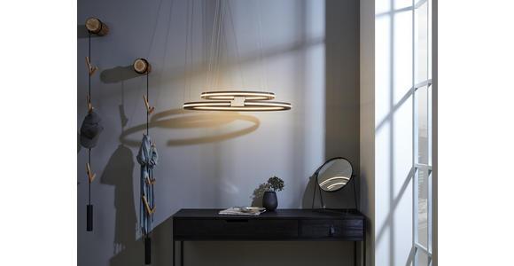 LED-HÄNGELEUCHTE 80/40/160 cm  - Schwarz, Design, Kunststoff/Metall (80/40/160cm) - Ambiente