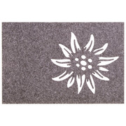 TISCHSET 45/30 cm Textil - Hellgrau, LIFESTYLE, Textil (45/30cm)
