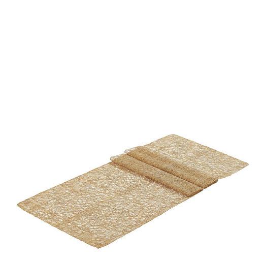 TISCHLÄUFER Textil Braun 45/140 cm - Braun, Basics, Textil (45/140cm)