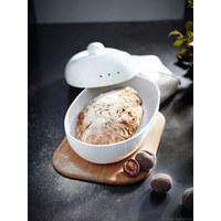 BROTTOPF - Weiß, Basics, Keramik (38/23,5/19cm) - ASA