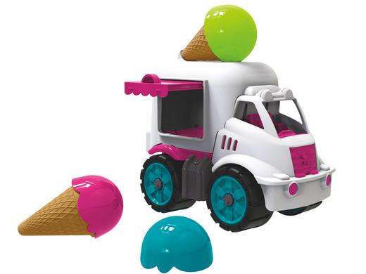 Big Mini Eiswagen Big Power Worker - Multicolor, Basics, Kunststoff (16/10/16,5cm) - Simba