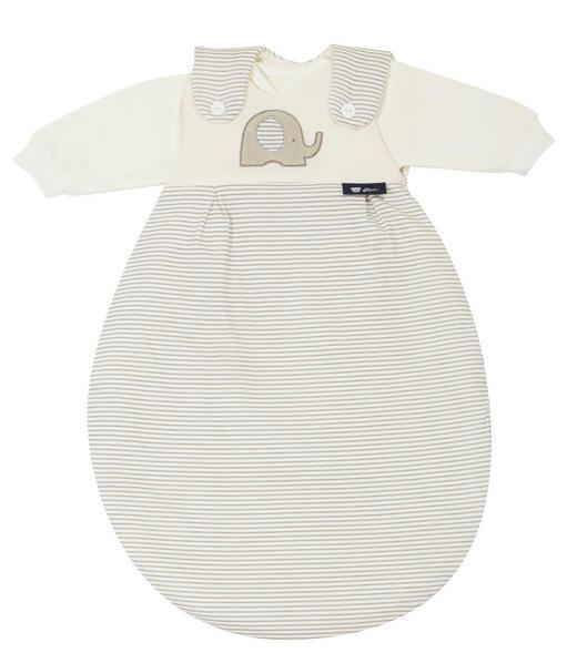 BABYSCHLAFSACKSET ELEPHANT - Beige, Basics, Textil (68/74null) - Alvi