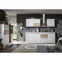 KUHINJSKI BLOK BEZ UREĐAJA - bijela/boje hrasta, Lifestyle, drvni materijal (240/120/205/144/60cm) - Xora