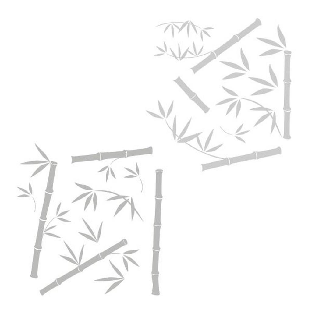 Komar Fensterbild Bamboo