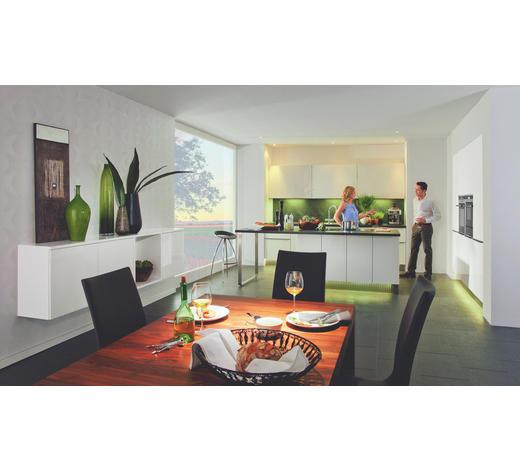 EINBAUKÜCHE  - Weiß, Design, Glas - Nolte Küchen