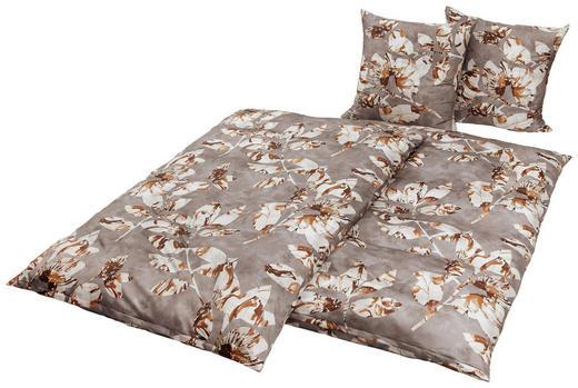 BETTWÄSCHE Makosatin Grau 135/200 cm - Grau, Textil (135/200cm) - Esposa