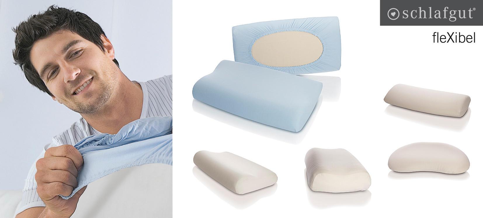 KOPFKISSENBEZUG - Weiß, Basics, Textil (s-xl)