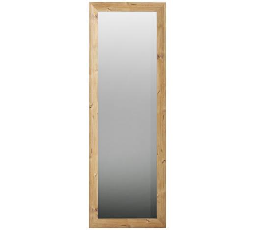 ZRCADLO, 52/152/2,7 cm,  - barvy borovice, Konvenční, kompozitní dřevo/sklo (52/152/2,7cm) - Xora