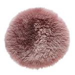 SITZKISSEN Pink 34 cm  - Pink, KONVENTIONELL, Textil/Fell (34cm) - Esposa