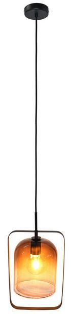 Hängeleuchte - Schwarz, Trend, Glas (21/18/150cm) - Dieter Knoll