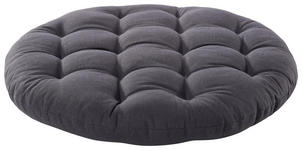 SITZKISSEN Grau 40 cm - Grau, Design, Textil (40cm) - BOXXX