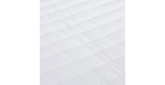 Boxspringbett mit Topper & Matratze H3 160x200cm Hampton - Anthrazit/Alufarben, KONVENTIONELL, Textil (160/200cm) - Luca Bessoni
