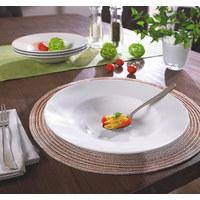 PASTATELLER Keramik Porzellan  - Weiß, Basics, Keramik (27cm) - Seltmann Weiden