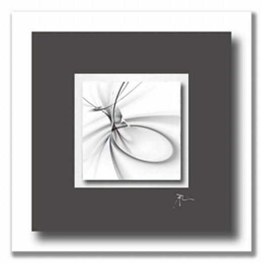 Abstraktes ACRYLGLASBILD - Multicolor, Basics, Kunststoff/Metall (50/50cm) - WIEDEMANN