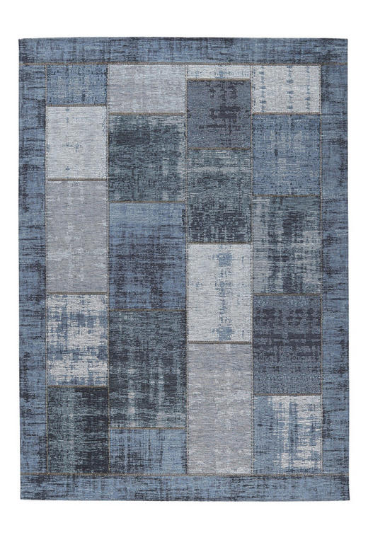 FLACHWEBETEPPICH  130/190 cm  Blau - Blau, Basics, Textil (130/190cm) - Novel