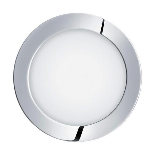 EINBAULEUCHTE Fueva - Chromfarben, Design, Metall (17/3cm)