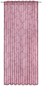 ZÁVĚS - červená, Design, textil (140/245cm) - Esposa