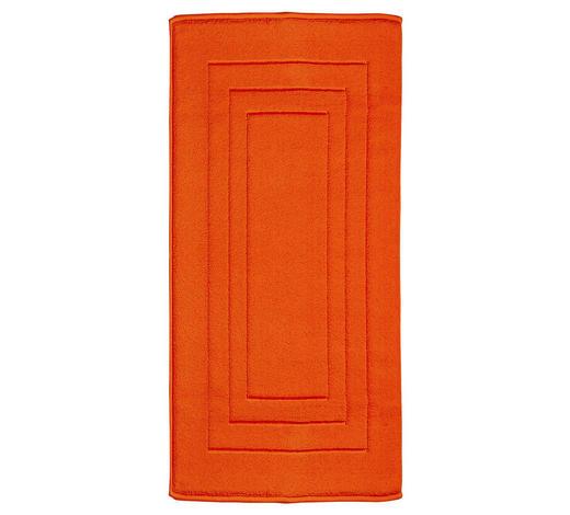 BADEMATTE in Orange 67/120 cm  - Orange, Basics, Textil (67/120cm) - Vossen