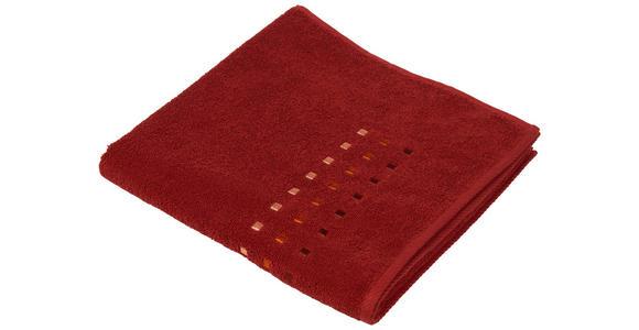 DUSCHTUCH 70/140 cm Terra cotta  - Terra cotta, KONVENTIONELL, Textil (70/140cm) - Esposa