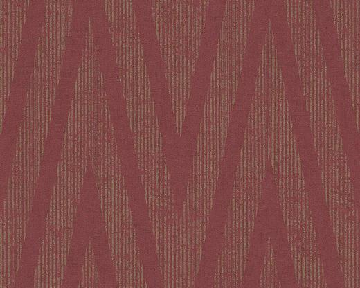 VLIESTAPETE 10,05 m - Bronzefarben/Dunkelrot, Basics, Textil (53/1005cm)