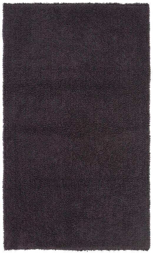 BADEMATTE in Anthrazit 70/120/ cm - Anthrazit, Natur, Textil (70/120/cm) - Linea Natura
