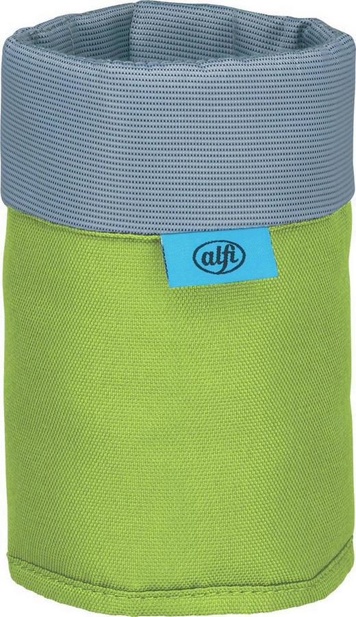 FLASCHENKÜHLER - Grau/Grün, Basics, Textil (13/15cm) - Alfi