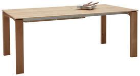 ESSTISCH Wildeiche massiv rechteckig Eichefarben - Eichefarben, Design, Holz (200/100/77cm) - Valnatura