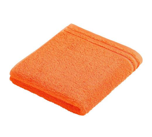 HANDTUCH 50/100 cm  - Orange, Basics, Textil (50/100cm) - Vossen