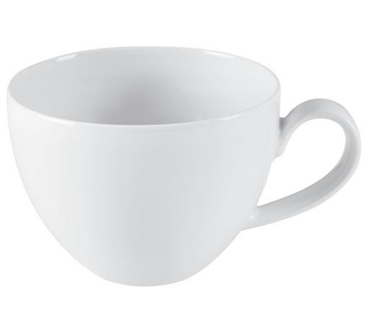 JUMBOTASSE 370 ml - Weiß, Design, Keramik (0,37l) - Seltmann Weiden