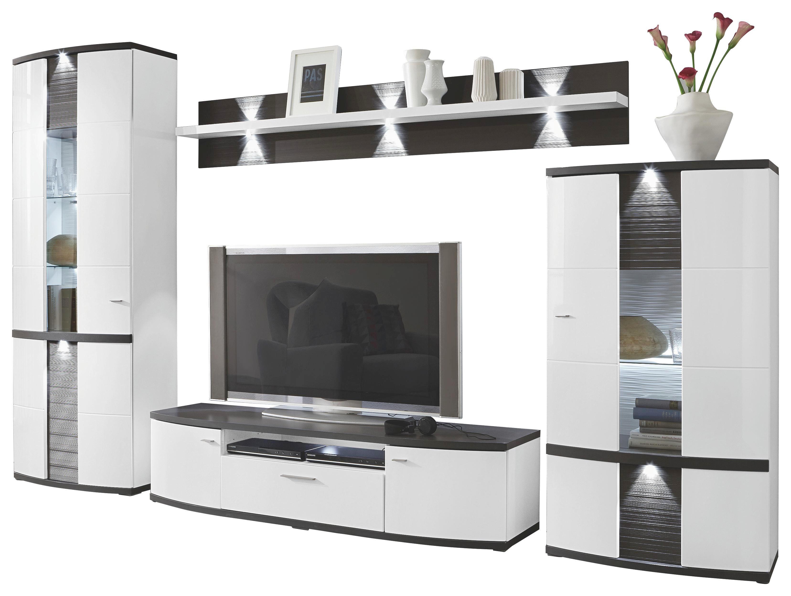 Xora Wohnwand Suche Hersteller Schwarzweie Moderne Wohnwand With