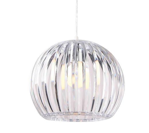 Hängeleuchte - Transparent, Trend, Kunststoff (31/25cm) - Boxxx