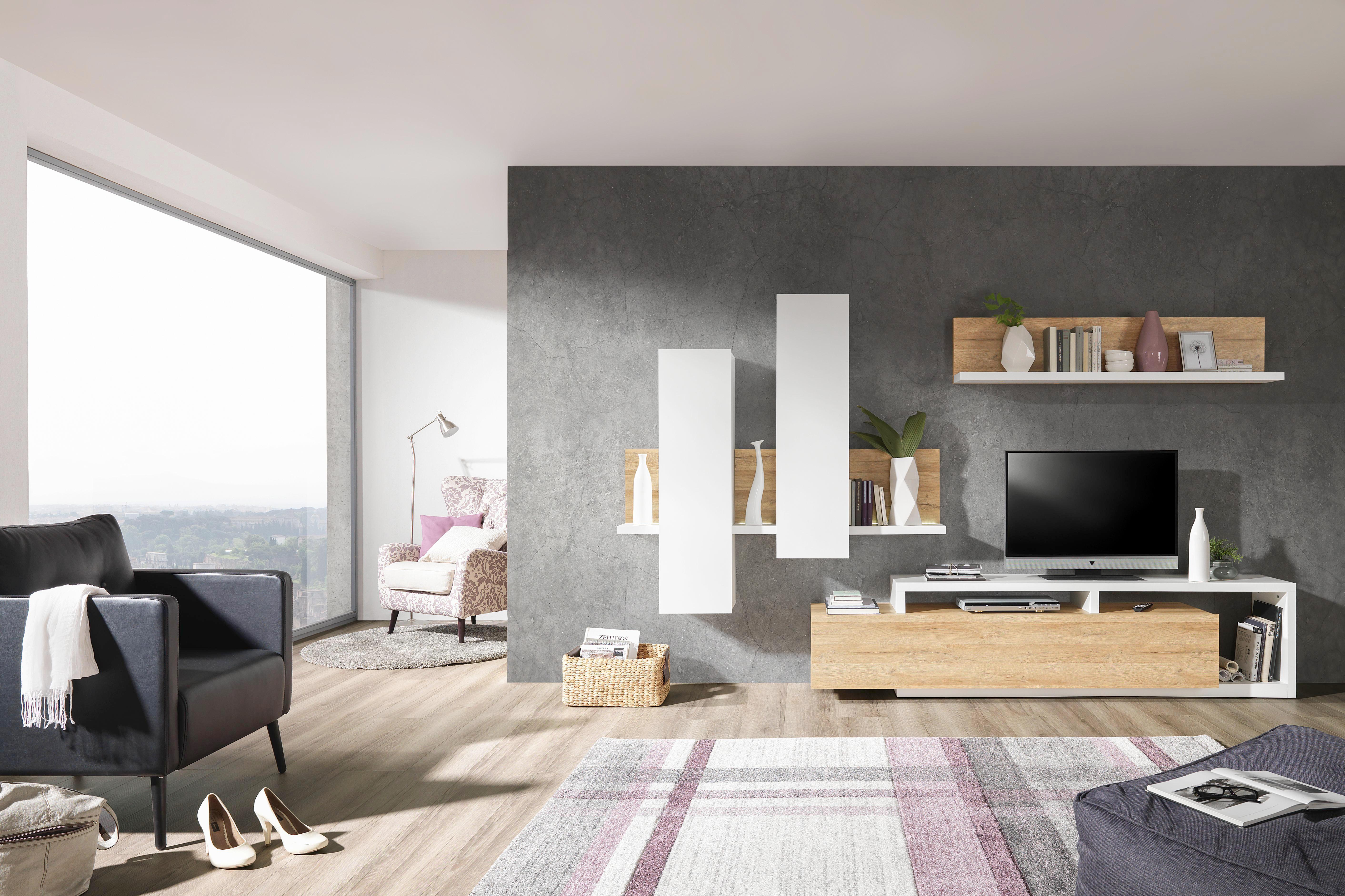 Wunderbar Wohnzimmer Schrankwand Modern Foto Von